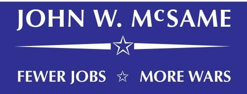 John w McSame for president