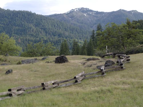 buck fence, castle peak