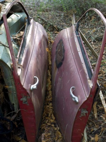 junk car doors, westport CA