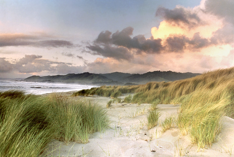 Clearing Storm, Ten Mile Dunes on Garth Hagerman Photo/Graphics
