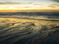 Rivulets in sunset photo gallery