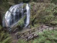 Viewing Spots in waterfall photo gallery
