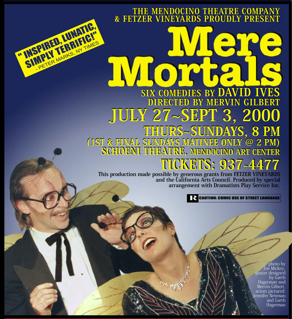 Mere Mortals Poster on Garth Hagerman Photo/Graphics