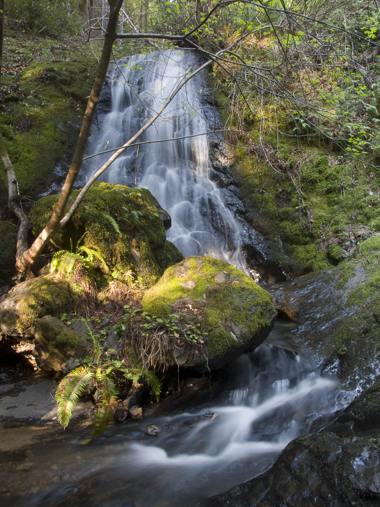 Upper Chamberlain Creek Falls on Garth Hagerman Photo/Graphics