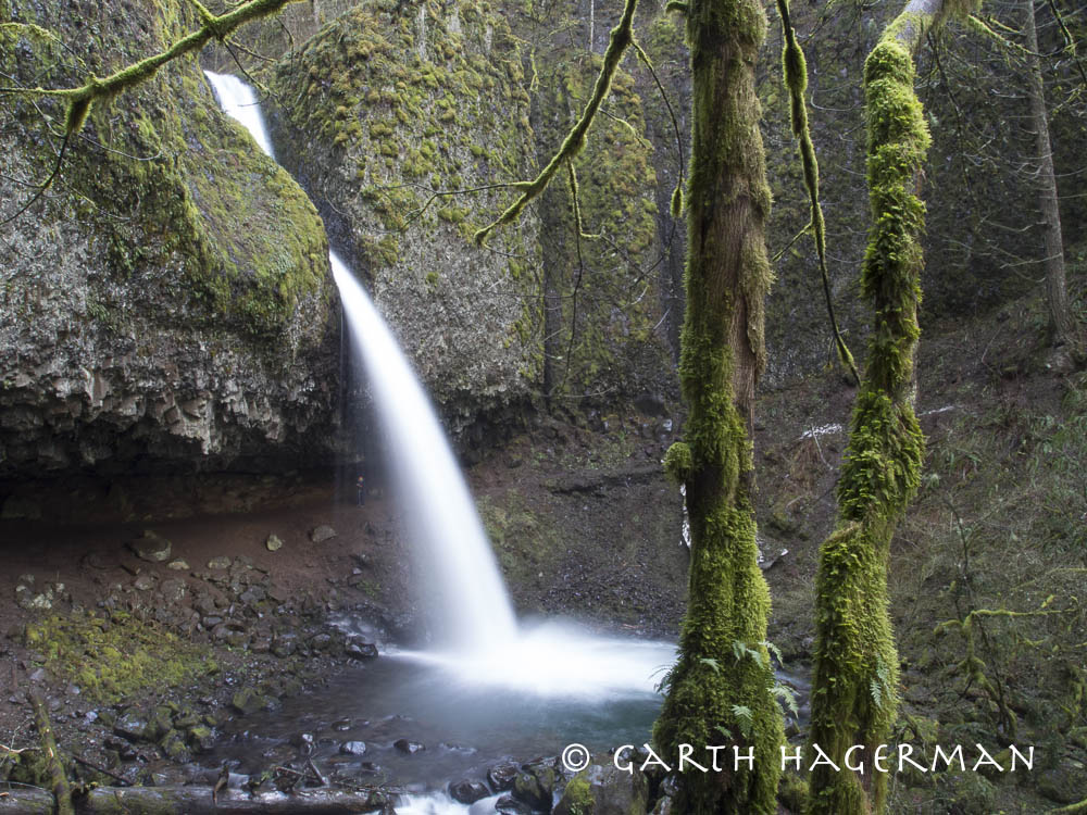 Upper Horsetail Falls on Garth Hagerman Photo/Graphics