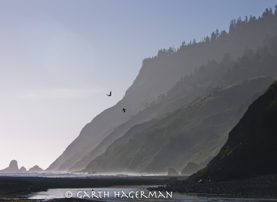 Usal Beach Ravens on Garth Hagerman Photo/Graphics