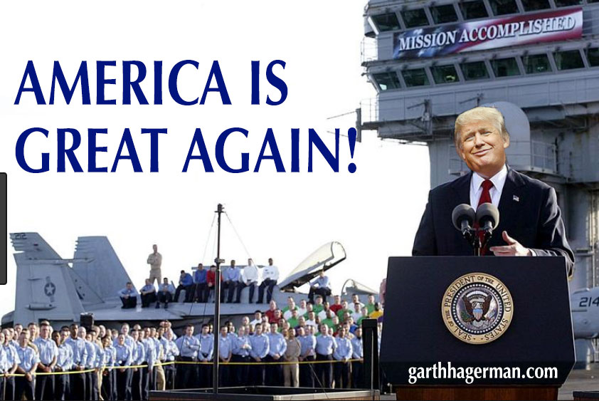 great again on Garth Hagerman Photo/Graphics
