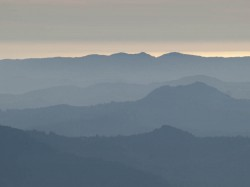 Blue Ridges in mountain peaks photo gallery
