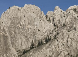 Castle Crags in mountain peaks photo gallery