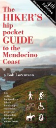Cover for Mendocino Hiking Guide in graphic design photo gallery