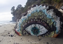 Eye on Big River Beach in Mendocino photo gallery
