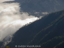 Fog From King's Peak in mountain peaks photo gallery