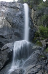 Grizzly Falls in Sierra Nevada Mts. photo gallery