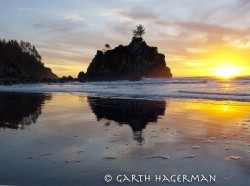 Hidden Beach Sunset in Redwood National and State Parks photo gallery