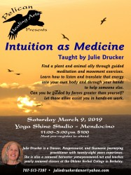 Intuition as Medicine Flyer in Print Design photo gallery
