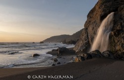 Little Howard Creek Falls in Ft. Bragg to Rockport photo gallery