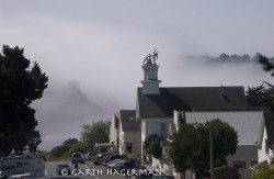 Mendocino Morning in buildings photo gallery