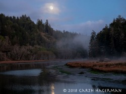 Moon Over Big River in Mendocino photo gallery