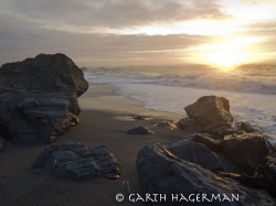 Sunset at Dry Lagoon Beach in Redwood National and State Parks photo gallery