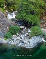 Tumbling Tributary in Inland Northern California photo gallery