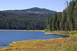 Willow Lake in Inland Northern California photo gallery