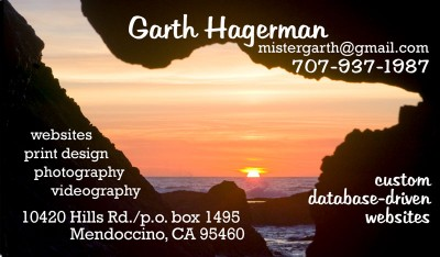 bizcard3 | Garth Hagerman Photo/Graphics