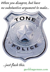tone police in Memes photo gallery