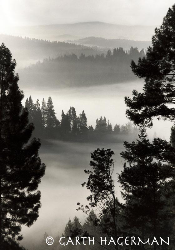 Morning Fog on Garth Hagerman Photo/Graphics