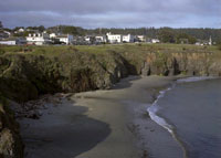 Mendocino and Portuguese Beach in buildings photo gallery