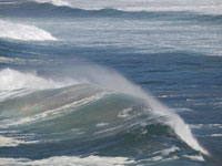 Prismatic Wave in Ft. Bragg to Rockport photo gallery